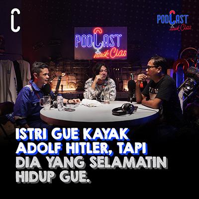 Jason Ranti: Istri Gue Kayak Adolf Hitler, Tapi Dia yang Selamatin Hidup Gue